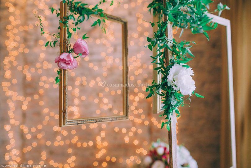 Detalhes da charmosa decoração