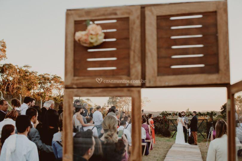 Casamento Rústico na Porteira