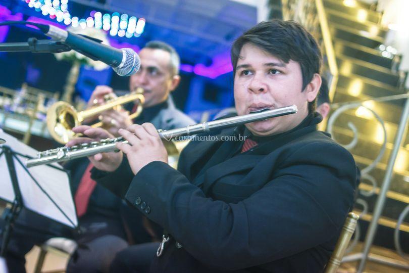 Ao som da flauta