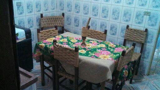 Cozinha da residencia