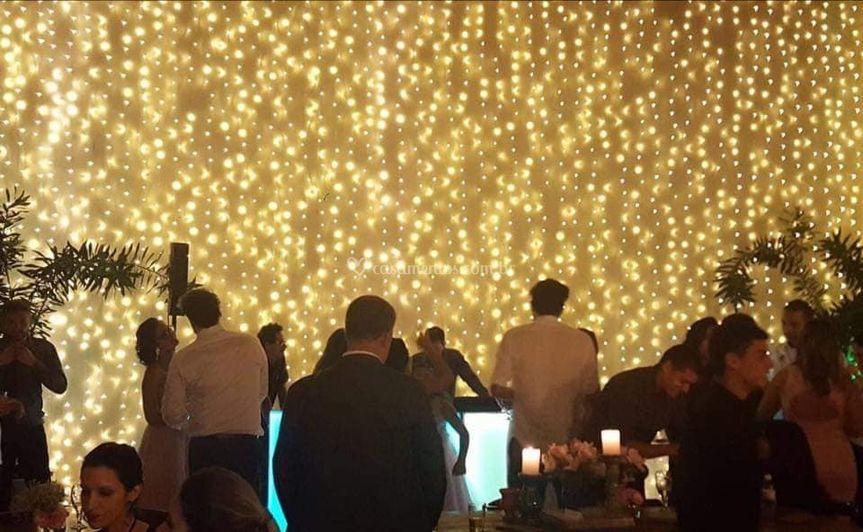 Cascata de LED
