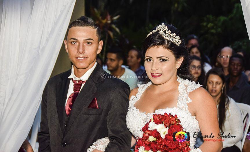 Airton e Isabela - Cerimônia