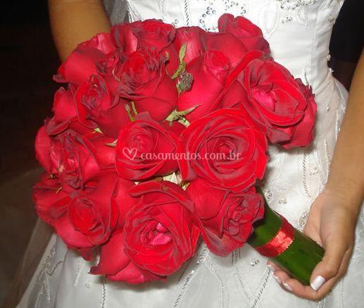 Bouquet com rosas