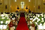 Decora��o igreja casamento de Fina Flor