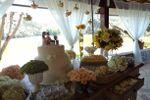 Mesa de doce de decora��o de Fina Flor