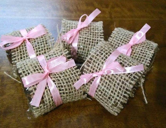 Brownie tradicional decorado