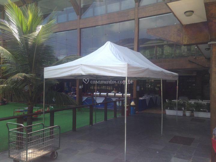 Tenda Sanfonada 3x6 mts