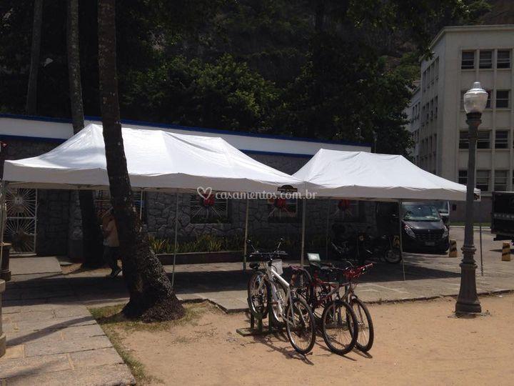 Tenda Sanfonada 3x12 mts