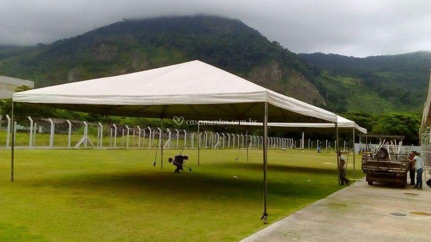 2 Tendas Piramidal  10x10 mts de Central das Tendas