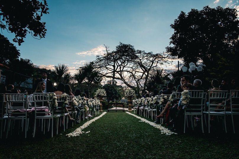 Área cerimônia