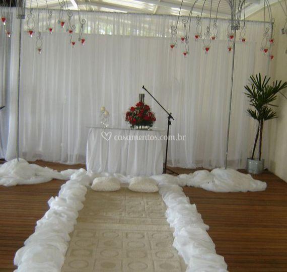 Espaço da cerimônia