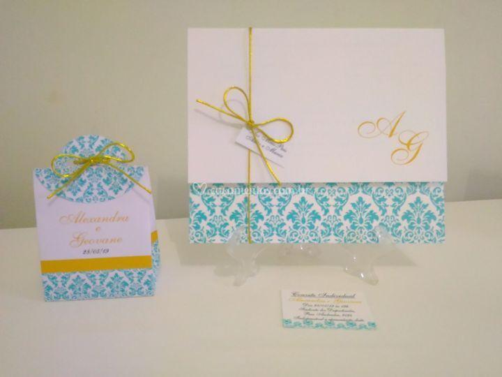 Convite Espanha Tiffany arab.