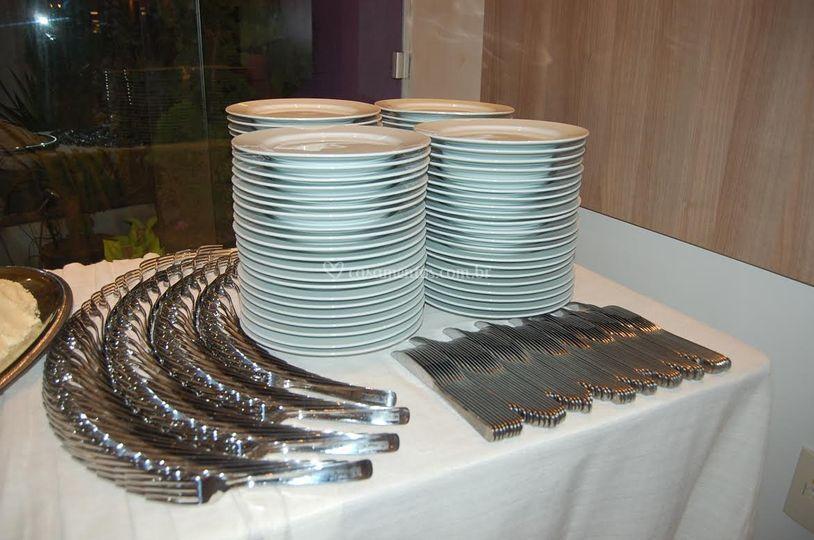 Organização de mesa