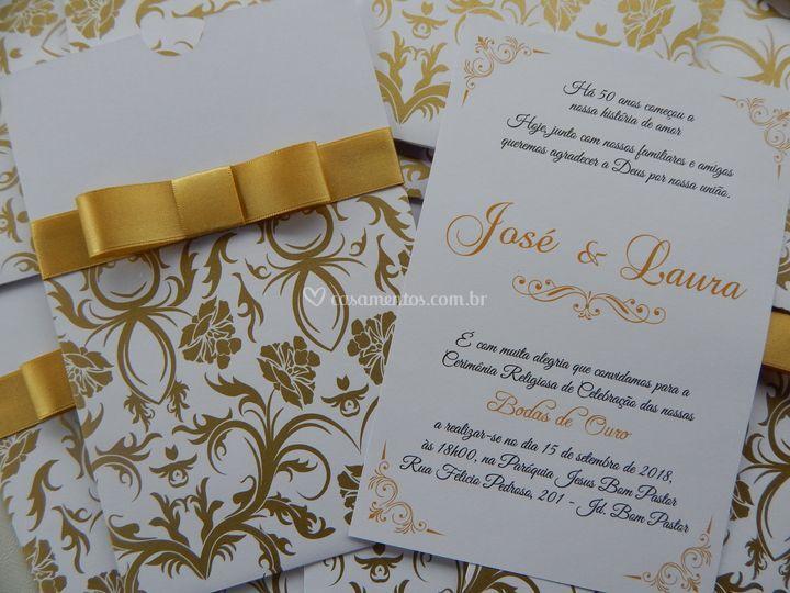 Convite Josineide Dourado