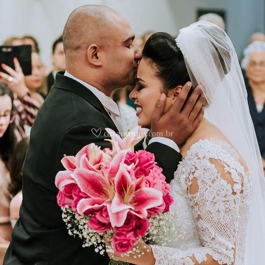 Cerimônia e bouquet