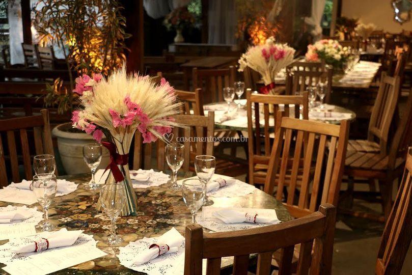 Cerimonial, buffet e decoração