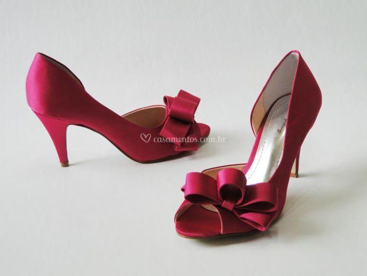 Retro Pink Laços