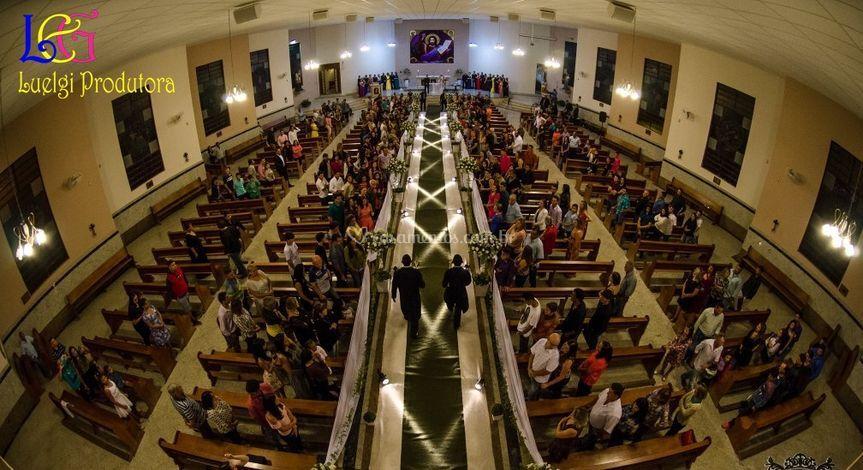 Igreja quase lotada