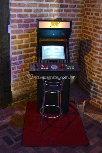 3a18ecdb4 Máquina de Fliperama Clássica de Rhetro Games   Foto 7
