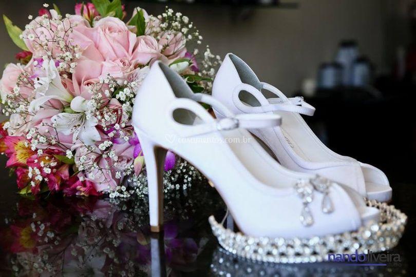 Lindos buquês para noiva