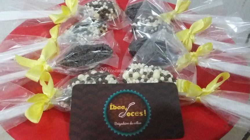 Êbaa doces - Brigadeiro de colher