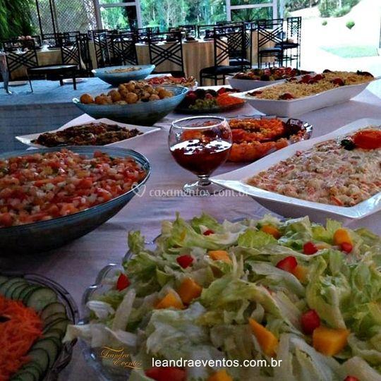 Variedades de saladas
