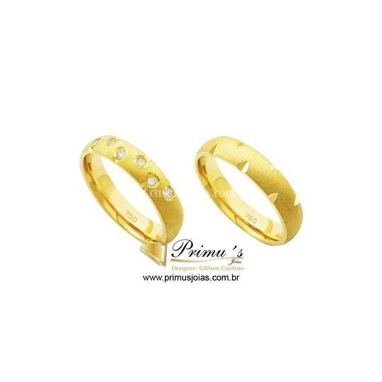 AL ouro Amarelo diamante anat