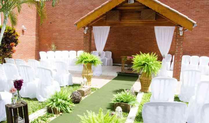 Jardim para cerimônia