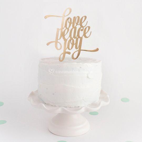 "Topo ""Love Peace Joy"""