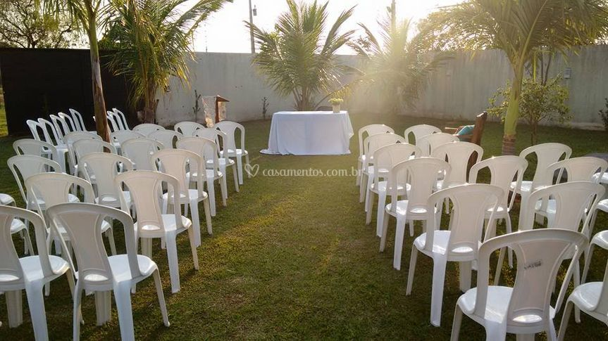 Celebracao realizada bodas