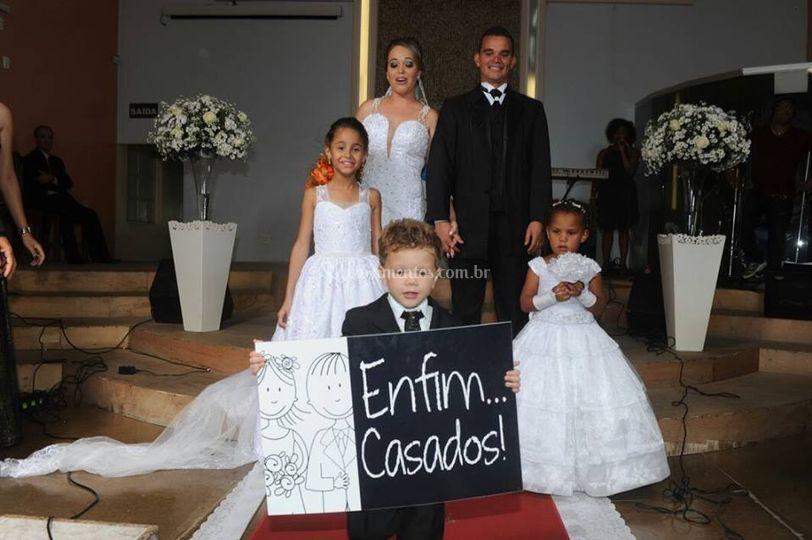 Casamento Emocionante!