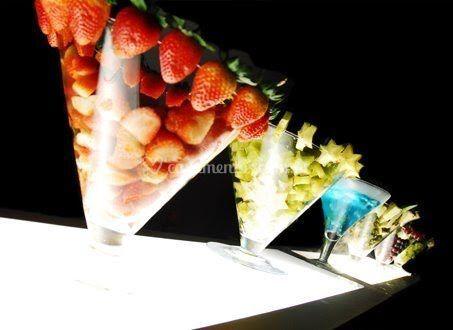 Drinks com frutas