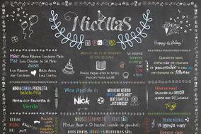 Projetando Chalkboard