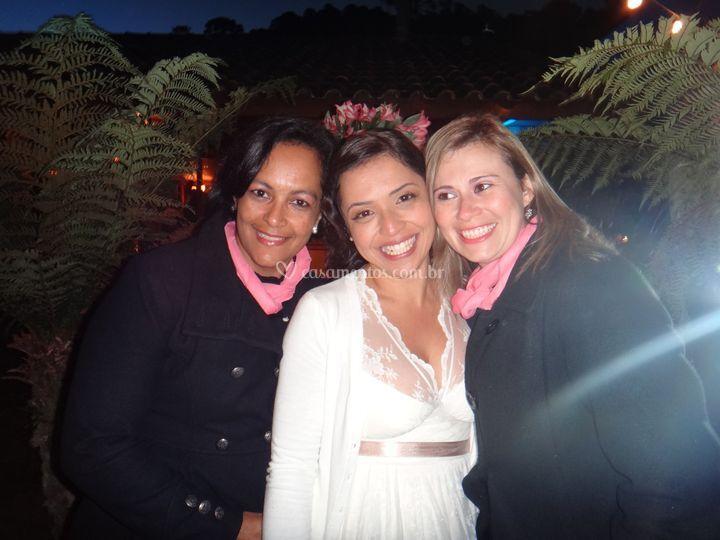 As assessoras e a noiva