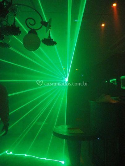 Laser verde potente