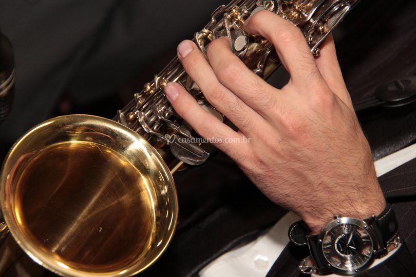Saxofone para recepção