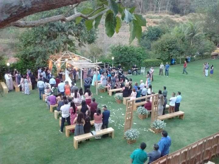 Cerimonia Casamento Iuna- Es