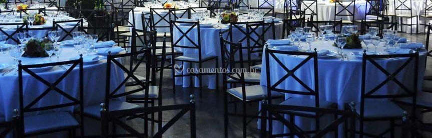 Salão para convidados