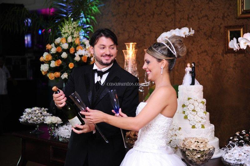 Flávia e Renato o casal