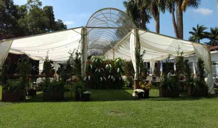 Tenda Capela Transparente