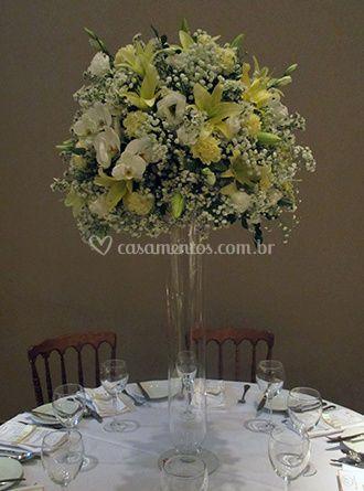 Flores para as tabelas