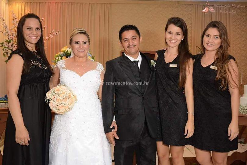 Casamento de Luiz e Jucilene