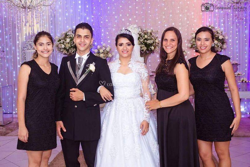 Casamento de Raquel e walclebe