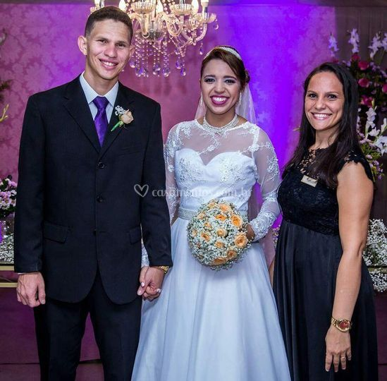 Casamento de Bruna e Ednaelson