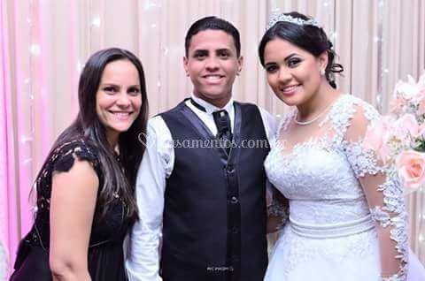 Casamento de Crislaine e Rober
