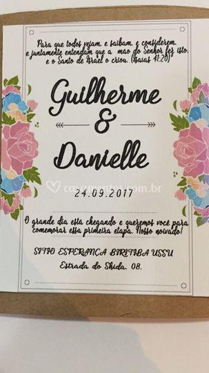 Convite rustico