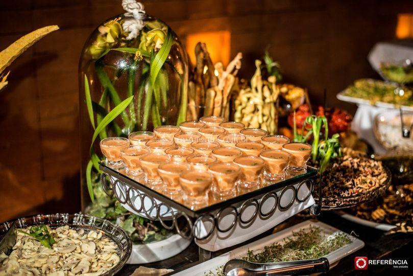 Detalhes barollo gastronomia