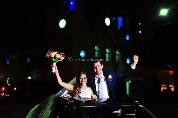 Comemoração dos noivos