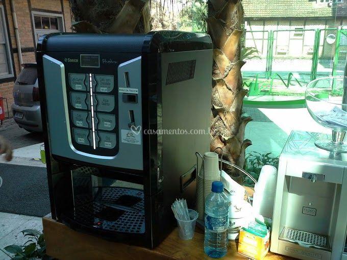 Máquina de café para casamentos