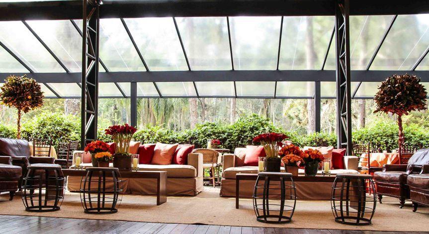 Vista decoração lounges